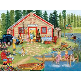 Lakeside Lodge 300 Large Piece Jigsaw Puzzle