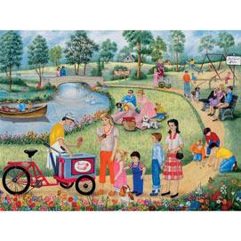 Maple Street Park 300 Large Piece Jigsaw Puzzle