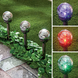 Solar Colour Changing Mercury Stakes