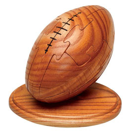 Wooden Rugby Puzzle