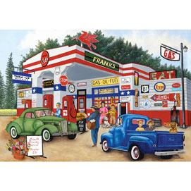 Frank's Friendly Service 2000 Piece Jigsaw Puzzle