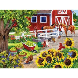 Ripe For Picking 500 Piece Jigsaw Puzzle