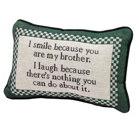My Brother Pillow