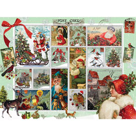 Vintage Christmas Quilt 500 Piece Jigsaw Puzzle