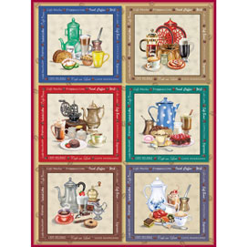 Coffee Cravings Quilt 500 Piece Jigsaw Puzzle
