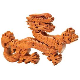 Asian Dragon 3D Wooden Puzzle