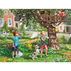 Back Yard Fun 300 Large Piece Jigsaw Puzzle