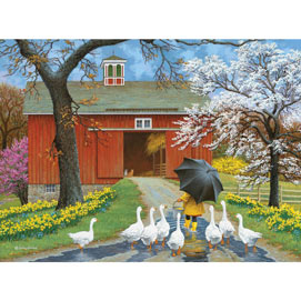 Follow The Leader 1000 Piece Jigsaw Puzzle