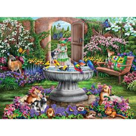 Hidden Garden 300 Large Piece Jigsaw Puzzle