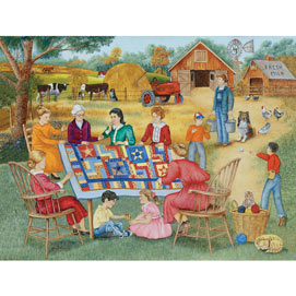 Quilting Bee 1000 Piece Jigsaw Puzzle