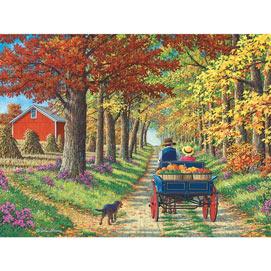 Shady Lane 300 Large Piece Jigsaw Puzzle