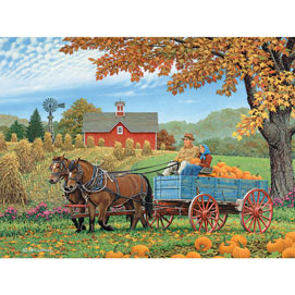 Bumper Crop 300 Large Piece Jigsaw Puzzle