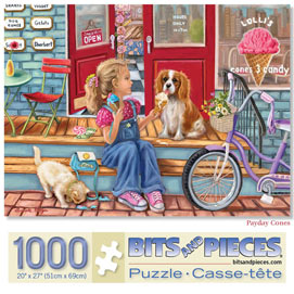Payday Cones 1000 Piece Jigsaw Puzzle