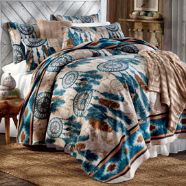 Dream Catcher Fleece Bedding And Accessories