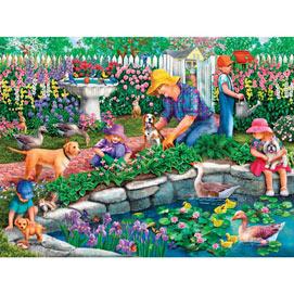 Grandma's Garden 1000 Piece Jigsaw Puzzle