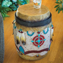 Native American Drum Stand
