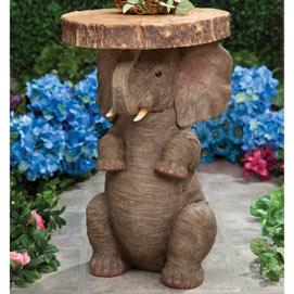 Lucky Elephant Side Table
