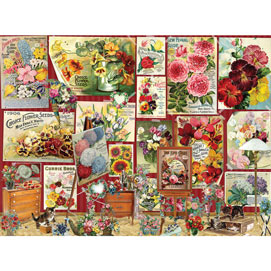 Flower Posters 1000 Piece Jigsaw Puzzle
