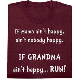 Mamma Ain't Happy Tee