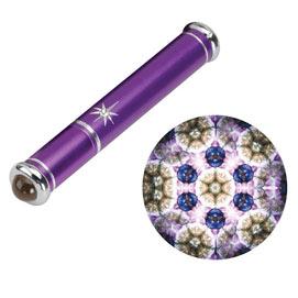 Purple Gemstone Teleidoscope Kaleidoscope
