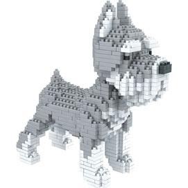 Dog Breed 3-D BlockPuzzle- Schnauzer