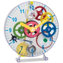 Build Your Own Gear Clock Kit