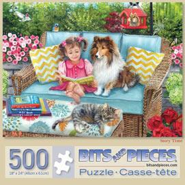 Story Time 500 Piece Jigsaw Puzzle