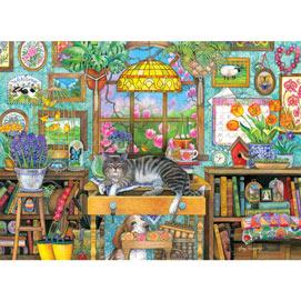 Spring Snooze 1500 Piece Jigsaw Puzzle