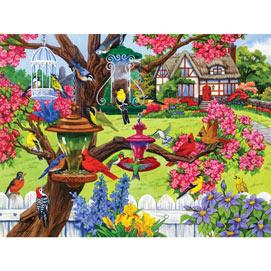 Bountiful Spring 500 Piece Jigsaw Puzzle