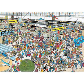 Departure Hall 1000 Piece Jigsaw Puzzle