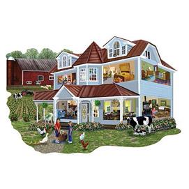 Granny's Farmhouse 300 Large Piece Jigsaw Puzzle