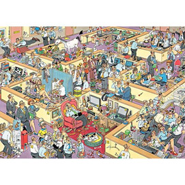 JVH The Office 2000 Piece Large Format Jigsaw Puzzle