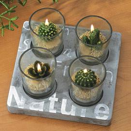 Cactus Tea Lights