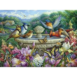 Summer Garden Birds 500 Piece Jigsaw Puzzle