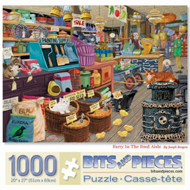 Party In The Feed Aisle 1000 Piece Jigsaw Puzzle