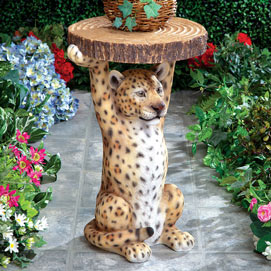Wild Leopard Table