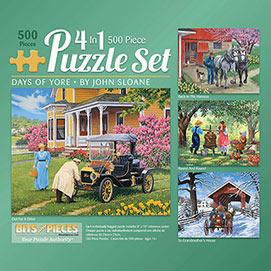 John Sloane 500 Piece 4-in-1 Multi-Pack Set