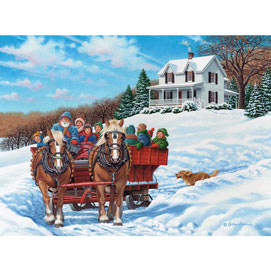 The More The Merrier 1000 Piece Jigsaw Puzzle