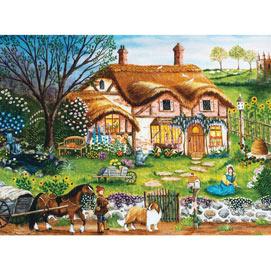 Cottage Garden 1000 Piece Jigsaw Puzzle