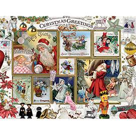 Christmas Greetings 500 Piece Jigsaw Puzzle