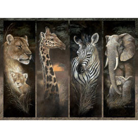 Pride Of Africa 500 Piece Jigsaw Puzzle