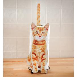 Yellow Kitty Towel Holder