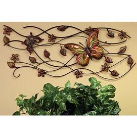 Graceful Butterfly Wall Art