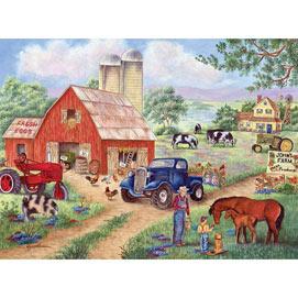 John's Farm 300 Large Piece Jigsaw Puzzle