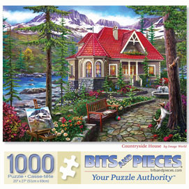 Countryside House 1000 Piece Jigsaw Puzzle