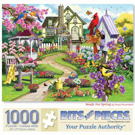Ready For Spring 1000 Piece Jigsaw Puzzle