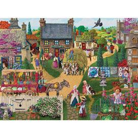 The Town Vendor 1000 Piece Jigsaw Puzzle