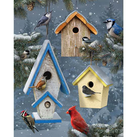 Winter Song 300 Large Piece Jigsaw Puzzle
