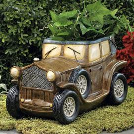 Antique Car Planter