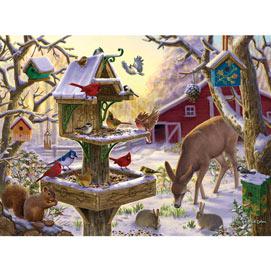 Sunrise Feasting 1000 Piece Jigsaw Puzzle